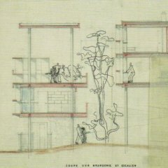Planos Casa Curutchet, Le Corbusier, Tecnne