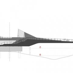 McDowell + Benedetti, Pasarela del Río Hull, tecnne