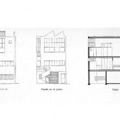 Le Corbusier, Atelier Ozenfant, tecnne