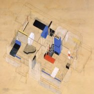 4 Casa Rietveld Schroder, axonometrica 1923
