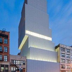 SANAA, Museo de Arte Contemporaneo NY, tecnne