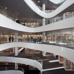 Schmidt Hammer Lassen, University of Aberdeen New Library, tecnne