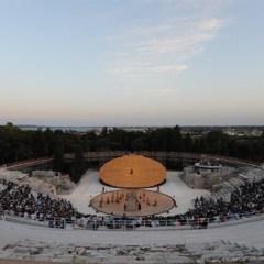 OMA, Syracuse Greek Theatre Scenography, tecnne