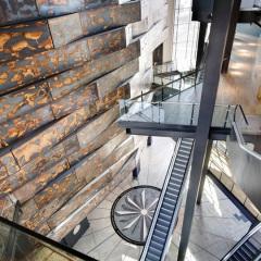 CivicArts & Todd Architects, Museo del Titanic Belfast, tecnne