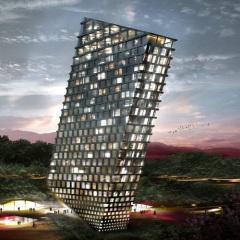 Bjarke Ingels, TLT Tilting Building, tecnne