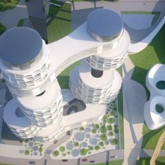 Asymptote Architects, Velo Towers, tecnne