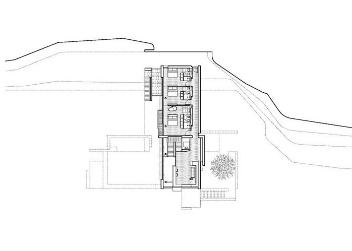 Villa Tugendhat Floor Plan