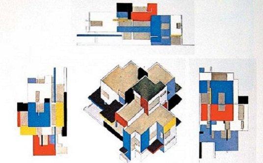 17 puntos de la arquitectura neoplasticista tecnne arquitectura y contextos. Black Bedroom Furniture Sets. Home Design Ideas