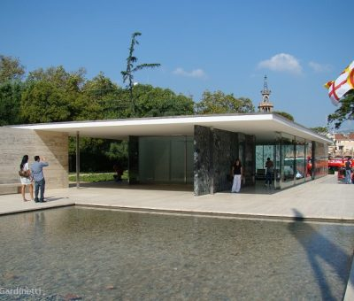 Mies en Barcelona, idea y materialidad