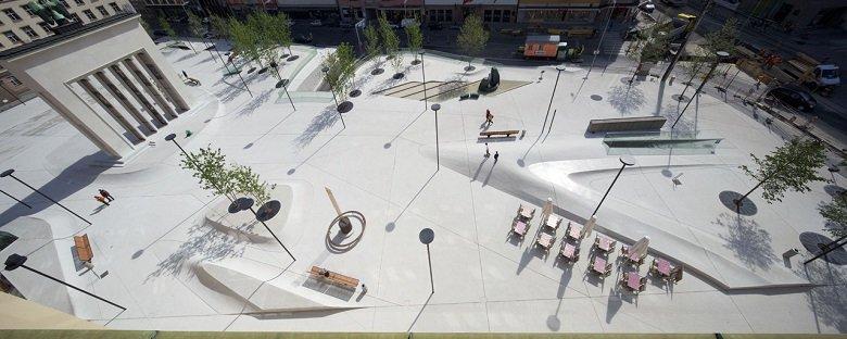 LAAC Architekten Landhausplatz tecnne