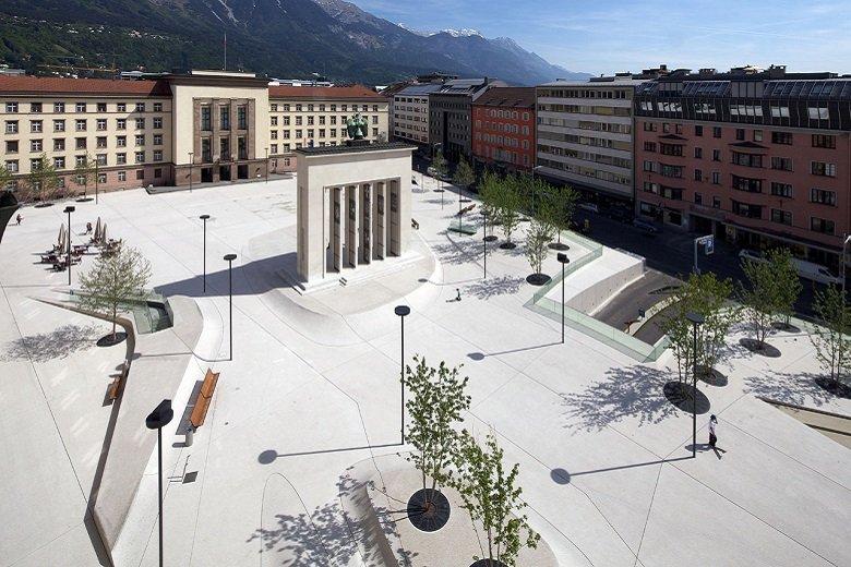 LAAC Architekten Landhausplatz tecnne.