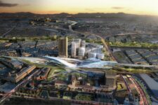 UNStudio, masterplan Union Station 2050, tecnne