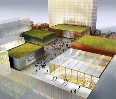 Cultural campus Frankfurt