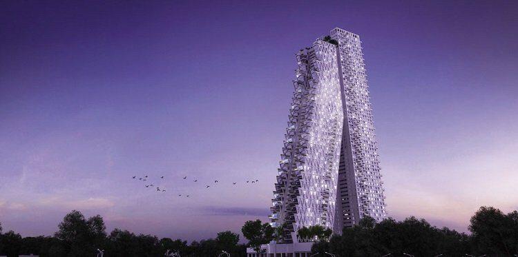 Moshe Safdie, Colombo Residential Development, tecnne