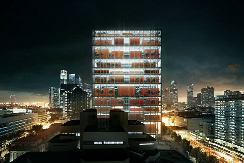 Serie Architects + Multiply Architects, Singapore Subordinate Courts Complex, tecnne