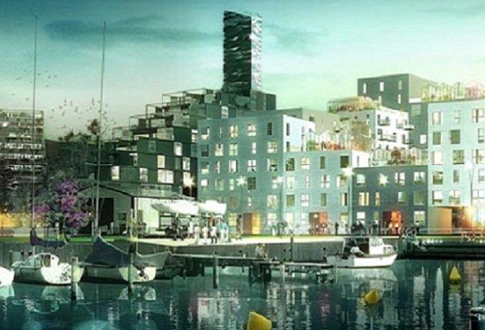 ADEPT y Luplau & Poulsen, Conjunto de viviendas en Aarhus, tecnne