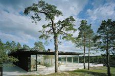 John Robert Nilsson, Villa Överby in Värmdö, tecnne