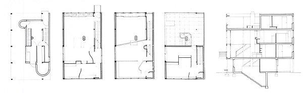 Le Corbusier Casas Citrohan tecnne