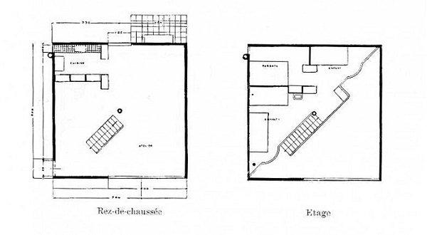 Le Corbusier, Casas en serie para artesanos, tecnne