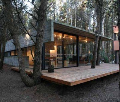Casa en Mar Azul, conjugar la arquitectura y el paisaje