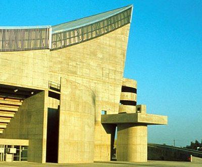Le Corbusier, gimnasio en Bagdad