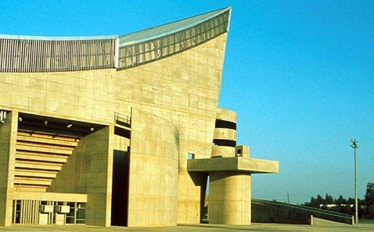 <b>Le Corbusier, gimnasio en Bagdad</b>