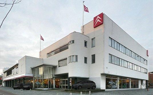 Icono racionalista en Amsterdam