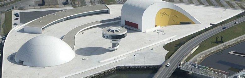 Centro Niemeyer tecnneOscar Niemeyer, Centro Niemeyer en Avilés, tecnne