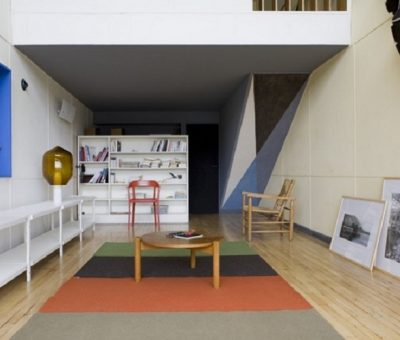 Exposición en una obra de Le Corbusier