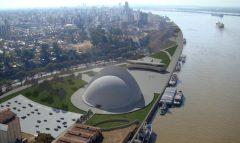 Oscar Niemeyer, Puerto de la música de Rosario, tecnne