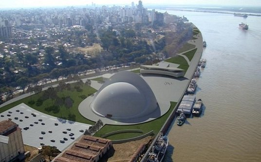 Niemeyer, Puerto de la música de Rosario