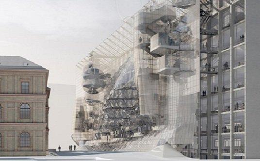 Concretar un conjunto urbano