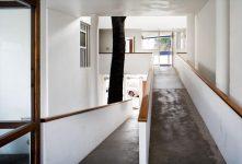 Le Corbusier, Casa Curutchet promenade, tecnne