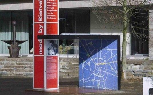 Parada de autobús, Gerrit Rietveld