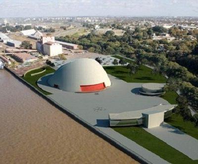 Video de Niemeyer sobre el puerto de la Música