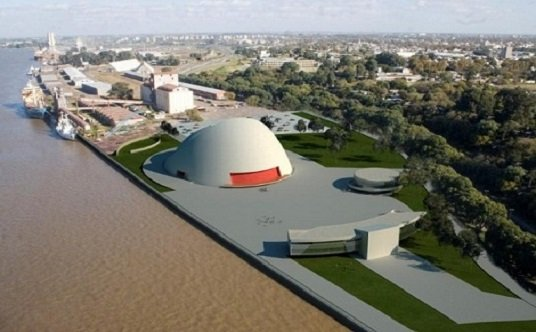 <b>Video de Niemeyer sobre el puerto de la Música</b>