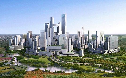 Ciudad satélite sostenible