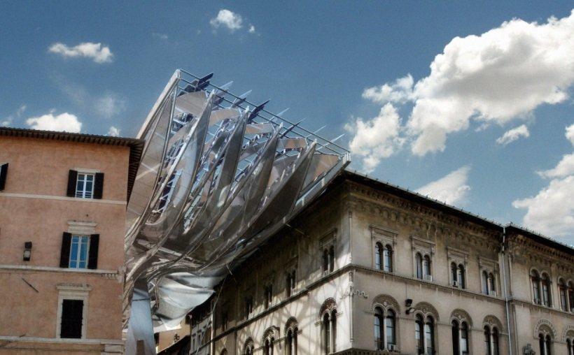 Coop Himmelblau, Energy Roof Perugia, tecnne