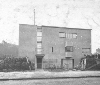 Villa Besnus, primer ensayo construido