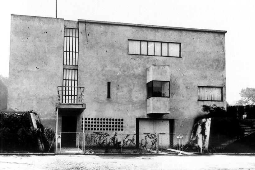 Le Corbusier, Villa Besnus, tecnne