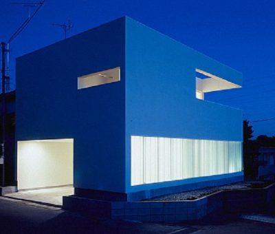 Casa en Izumiku. austeridad funcional