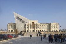 Daniel Libeskind, Dresden Museum, tecnne