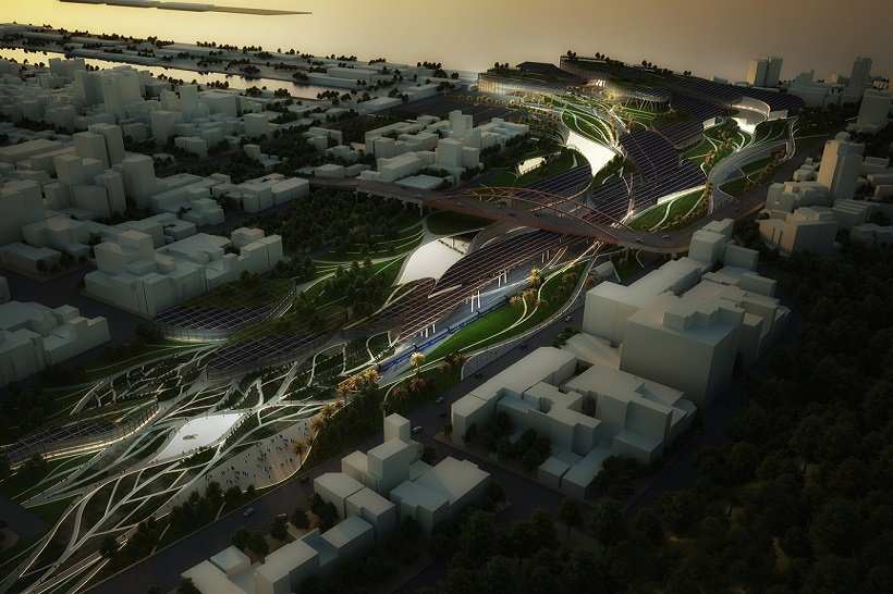 MaxThreads, Kaohsiung Port Station Urban Design, tecnne