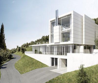Richard Meier, en la ladera del Garda