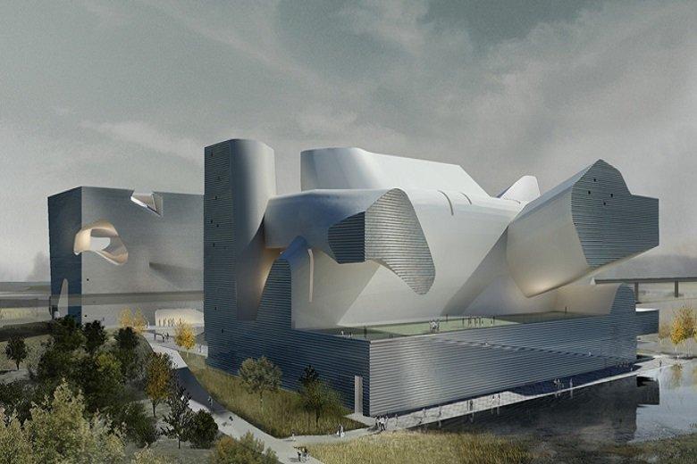 Steven Holl, Museo de Ecología de Tianjin, tecnne
