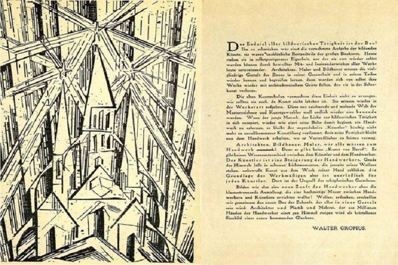 Manifiesto Bauhaus, tecnne