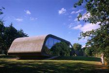 Zaha Hadid, Ordrupgaard Museum, tecnne