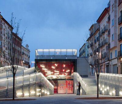 Teruel, espacio público debajo del espacio público