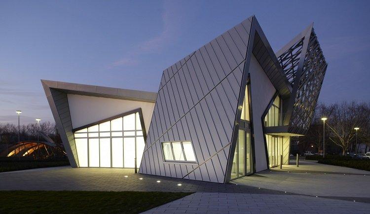 Daniel Libeskind, Villa Libeskind, tecnne