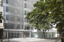 Richard Meier, Leblon Offices, tecnne